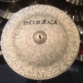 "Used Istanbul Stencil Label (Pre-Split) 20"" China Cymbal"