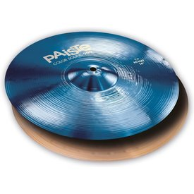 "Paiste Paiste Color Sound 900 Blue 14"" Heavy Hi Hat Cymbals"