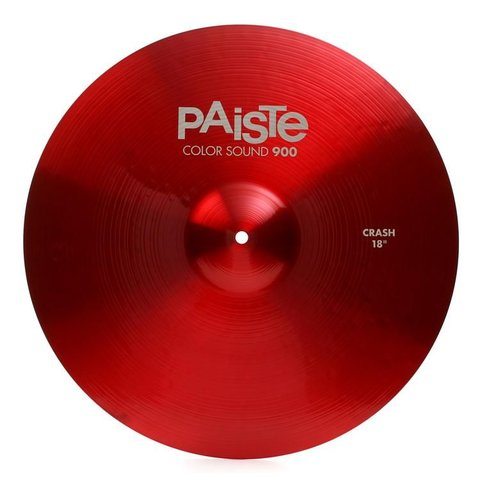 """Paiste Color Sound 900 Red 18"""" Crash Cymbal"""