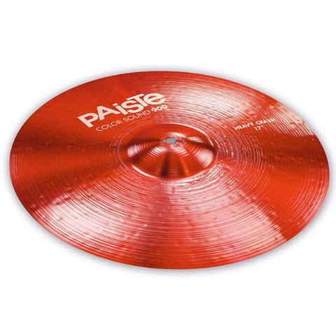 """Paiste Color Sound 900 Red 17"""" Heavy Crash Cymbal"""