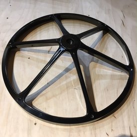 Remo Remo Rototom 5 1/2'' Diameter Black Top Casting; Modified For Use As Spoxe Hi Hat Single