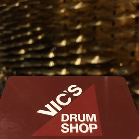 Vic's Drum Shop $100 Gift Card