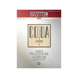 Alfred Publishing Alfred's Platinum Album Editions: Led Zeppelin: Coda; Book