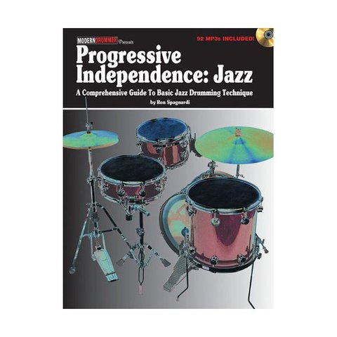 Progressive Independence: Jazz by Ron Spagnardi; Book & CD