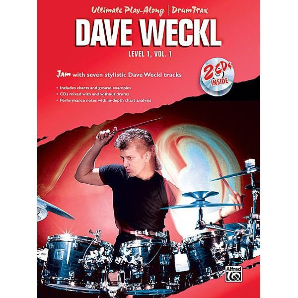 Alfred Publishing Ultimate Play-Along/Drum Trax: Dave Weckl Level 1, Volume 1; Book