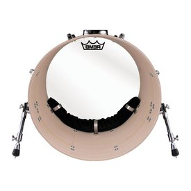 "Remo Remo Hardware Package - Bass Muffle Strip Black for 20"" Diameter Drum"
