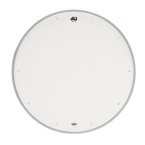 """DW 13"""" Coated Drum Head W/ Tuning Sequence"""