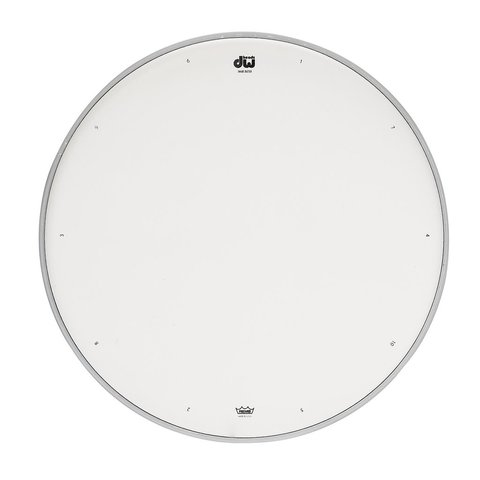 """DW 12"""" Coated Drum Head W/ Tuning Sequence"""