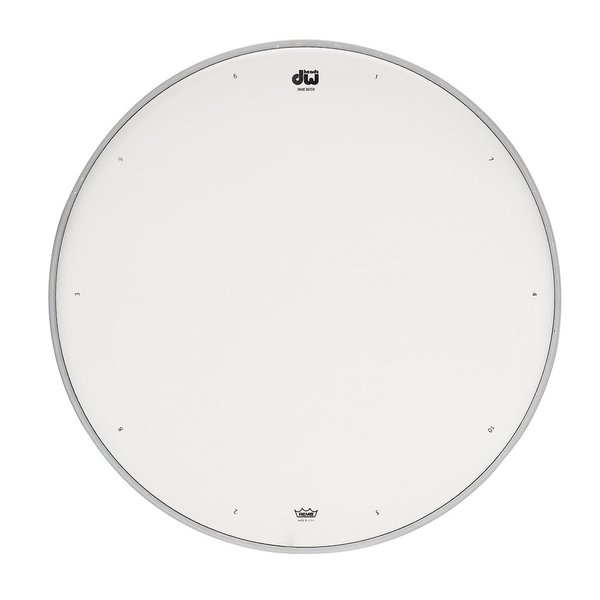"""DW DW 12"""" Coated Drum Head W/ Tuning Sequence"""