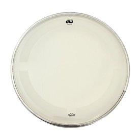 "DW DW 20"" Coated Clear Bass Drum Head"