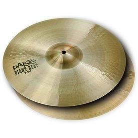 "Paiste Paiste 16"" 2002 Big Beat Hi Hat Cymbals"