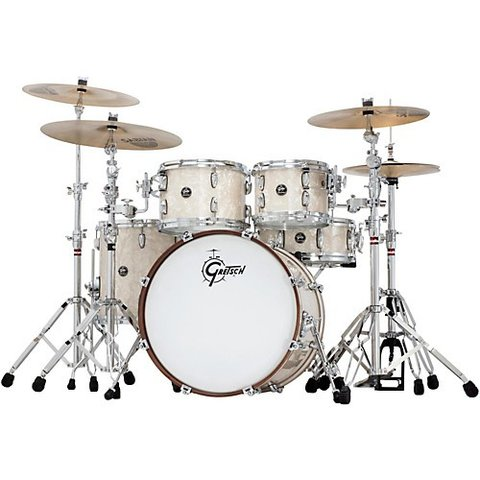 Gretsch Renown 4 Piece Shell Pack in Vintage Pearl