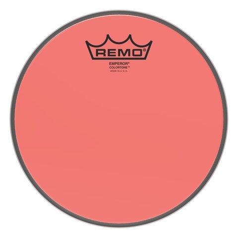 """Remo Emperor Colortone  Red Drumhead, 8"""""""