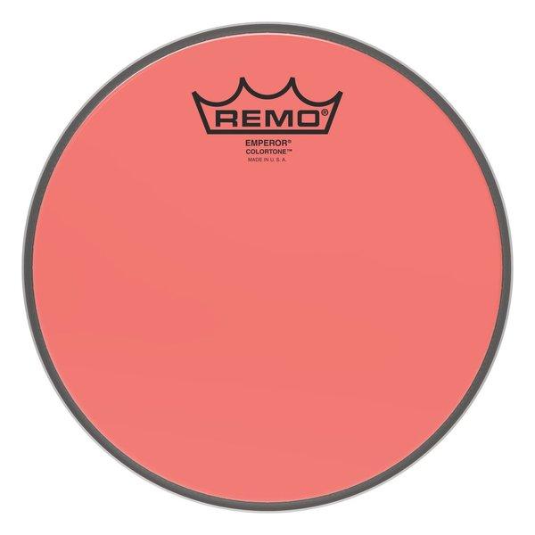 """Remo Remo Emperor Colortone  Red Drumhead, 8"""""""