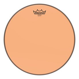 Remo Remo Emperor Colortone  Orange Drumhead, 14""