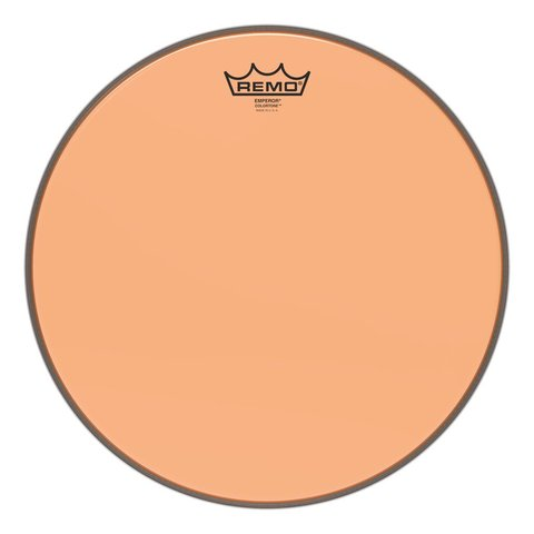 Remo Emperor Colortone  Orange Drumhead, 14""