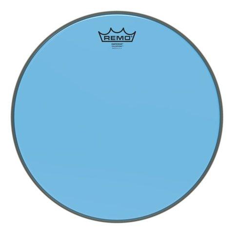 """Remo Emperor Colortone  Blue Drumhead, 14"""""""