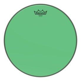 """Remo Remo Emperor Colortone Green Drumhead, 14"""""""