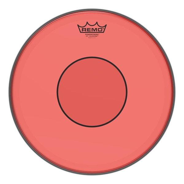 "Remo Remo Powerstroke 77 Colortone  Red Drumhead, 14"""