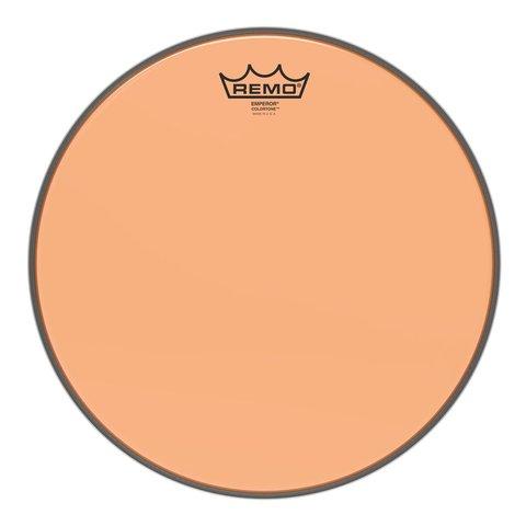 """Remo Emperor Colortone  Orange Drumhead, 13"""""""