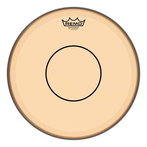 "Remo Powerstroke 77 Colortone  Orange Drumhead, 14"""