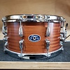 Chicago Drum & Restoration 7x14 Snare Drum, Natural Mahogany Tung Oil Finish