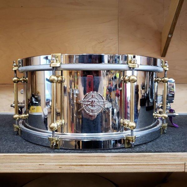 Dunnett Dunnett Classic 6.5x14  Stainless Steel Snare Drum - Polished