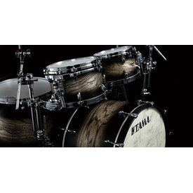 Tama Tama Star Walnut 5 Piece Shell Pack in Satin Charcoal Japanese Sen Finish