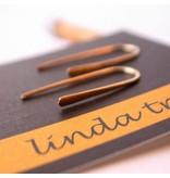 Linda Trent Jewelry Linda Trent Minimalist Small Threader Earrings Gold Filled