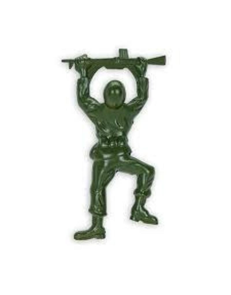 Foster & Rye Army Man Bottle Opener: Zinc Alloy Army Green finish