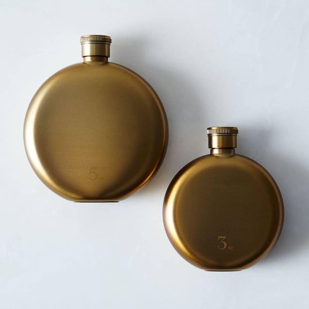 IZOLA IZOLA Reflections Gold 3 Oz Flask