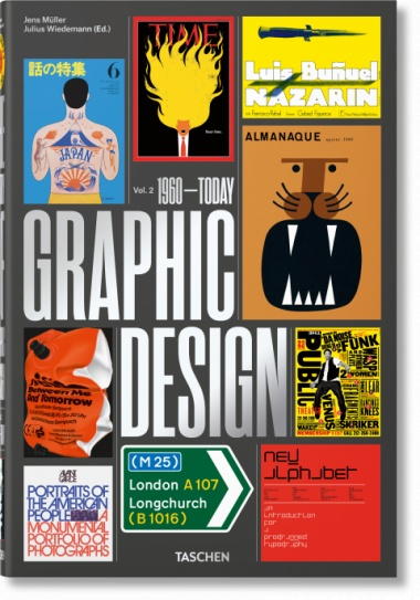 Taschen The History of Graphic Design. Vol. 2, 1960–Today