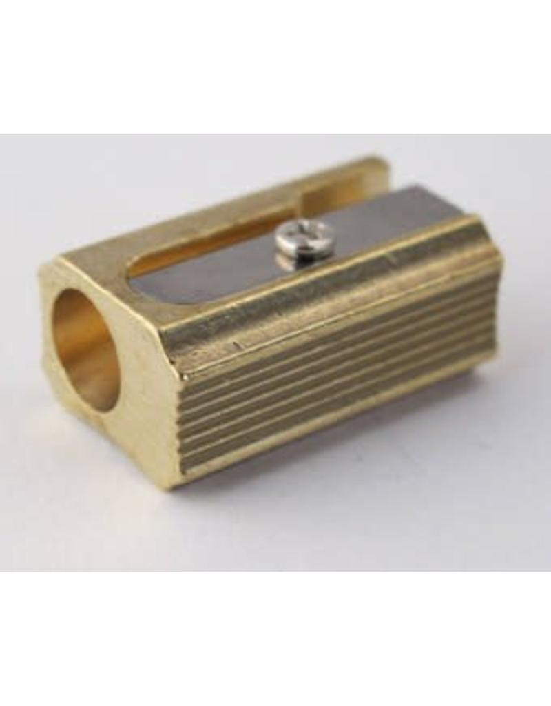 MOBIUS + RUPPERT M+R BLOC - Brass Pencil Sharpener