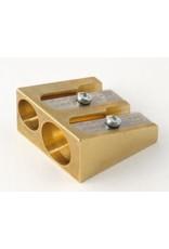 MOBIUS + RUPPERT M+R DOUBLE ARTIST - Brass Pencil Sharpener