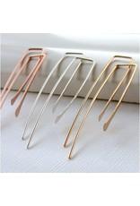 Linda Trent Rectangle Threader Earring