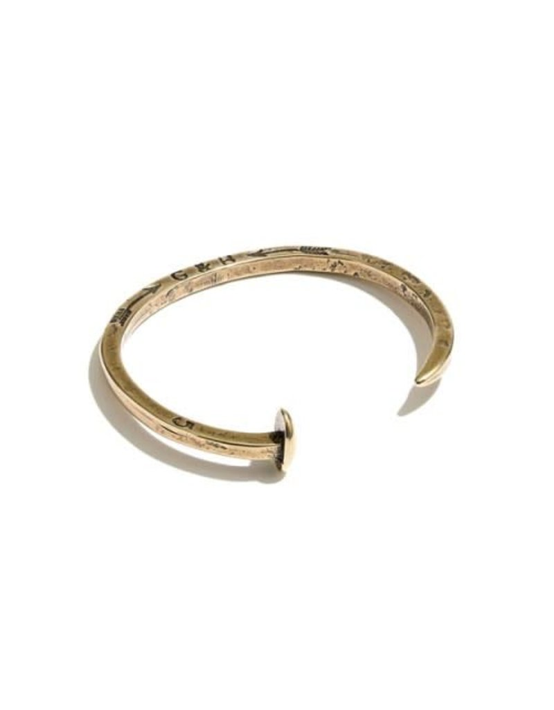 Giles & Brother Glies & Brother Railroad Spike Cuff