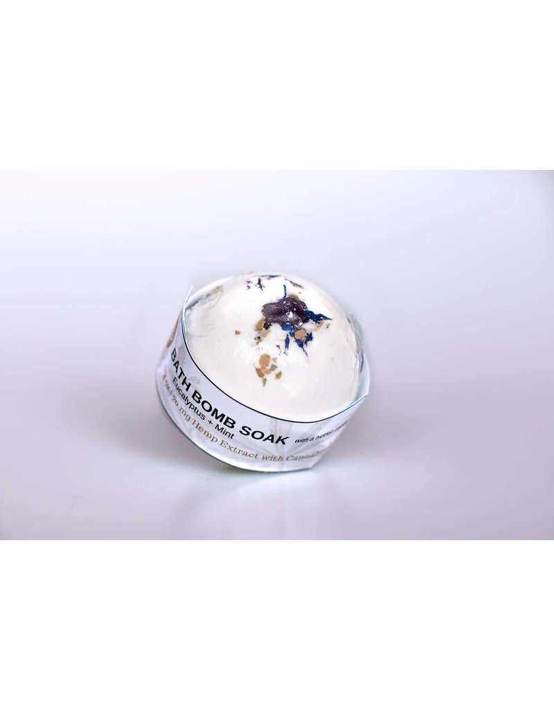 Holistic Hemp Co Holistic Hemp Co - CBD Bath Bomb - (4 oz) - Lavender / Lemongrass