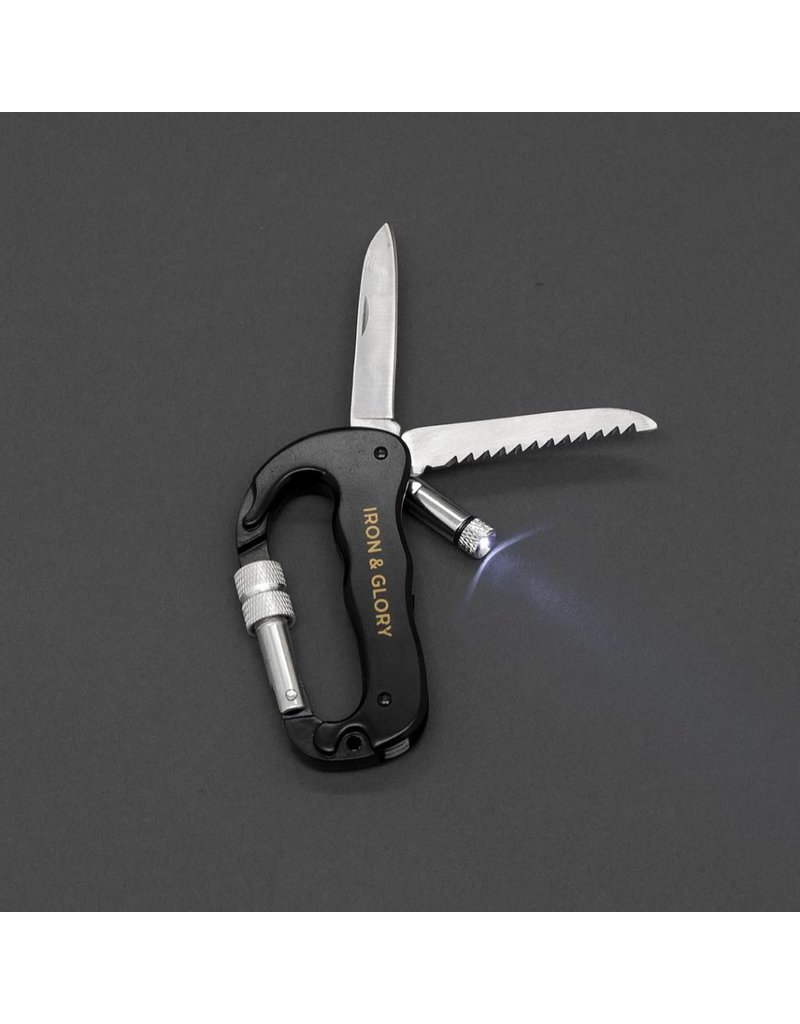 Iron & Glory Carabiner Tool Always Ready