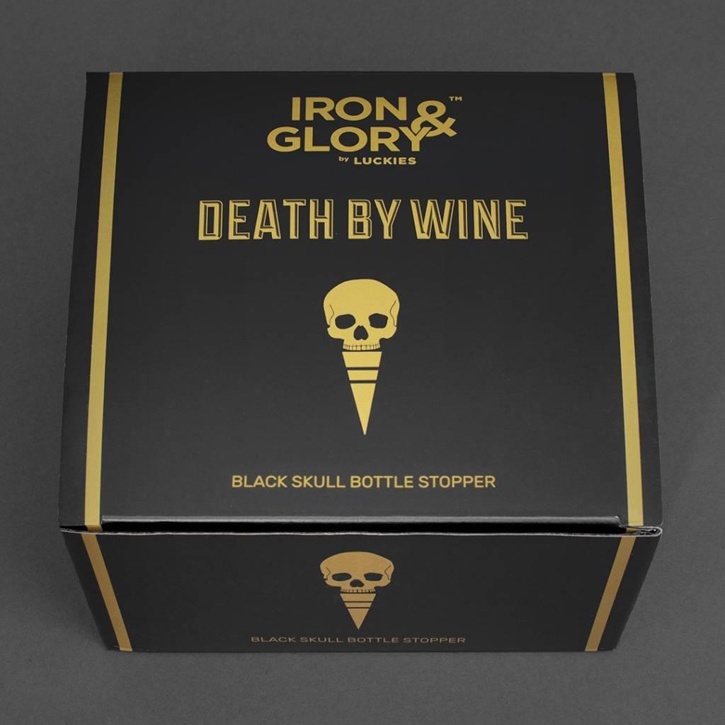 Iron & Glory Bottle Stopper