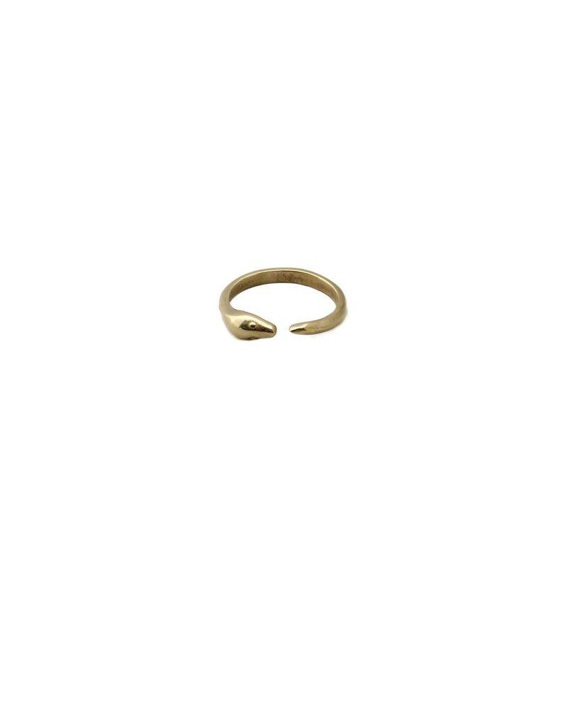 Julie Nolan Julie Nolan Ouroboros Snake Ring (6)