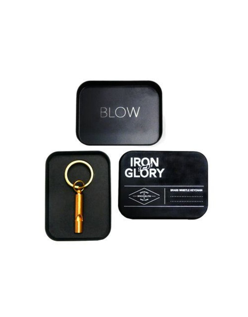 Iron & Glory Blow Whistle Keychain