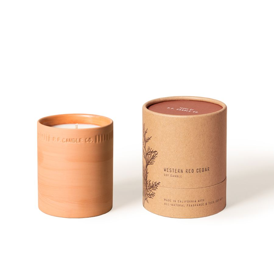 P.F. Candle Co. P.F. Candle Terra Cotta Candle