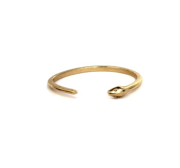 Julie Nolan Julie Nolan Ouro Snake Brass Cuff