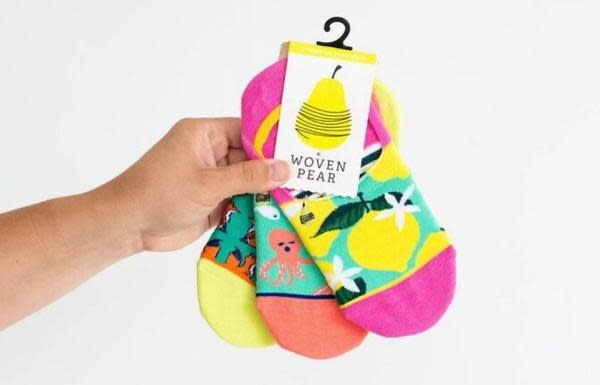 Woven Pear Woven Pear 6 Pack Sock