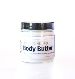 Holistic Hemp Co Holistic Hemp Co -  100 Mg CBD Topical:Body Butter - (4 oz)