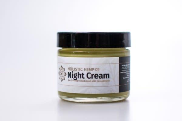 Holistic Hemp Co Holistic Hemp Co - 100Mg CBD Topical:Night Cream - (2 oz)Juniper Berry, Lemongrass, Lavender