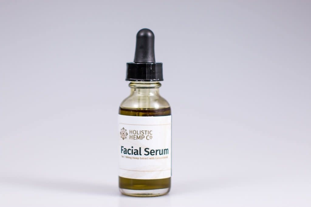 Holistic Hemp Co Holistic Hemp Co -  100 Mg CBD Topical:Facial Serum - (1oz)