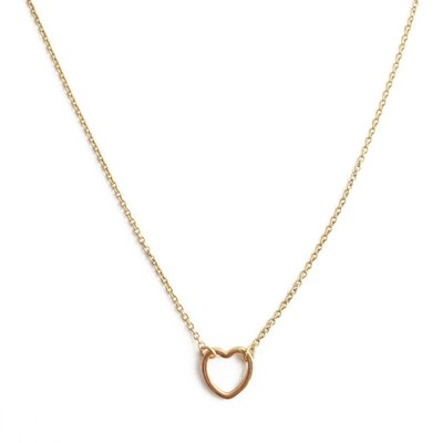 Honeycat Honeycat Open Heart Necklace