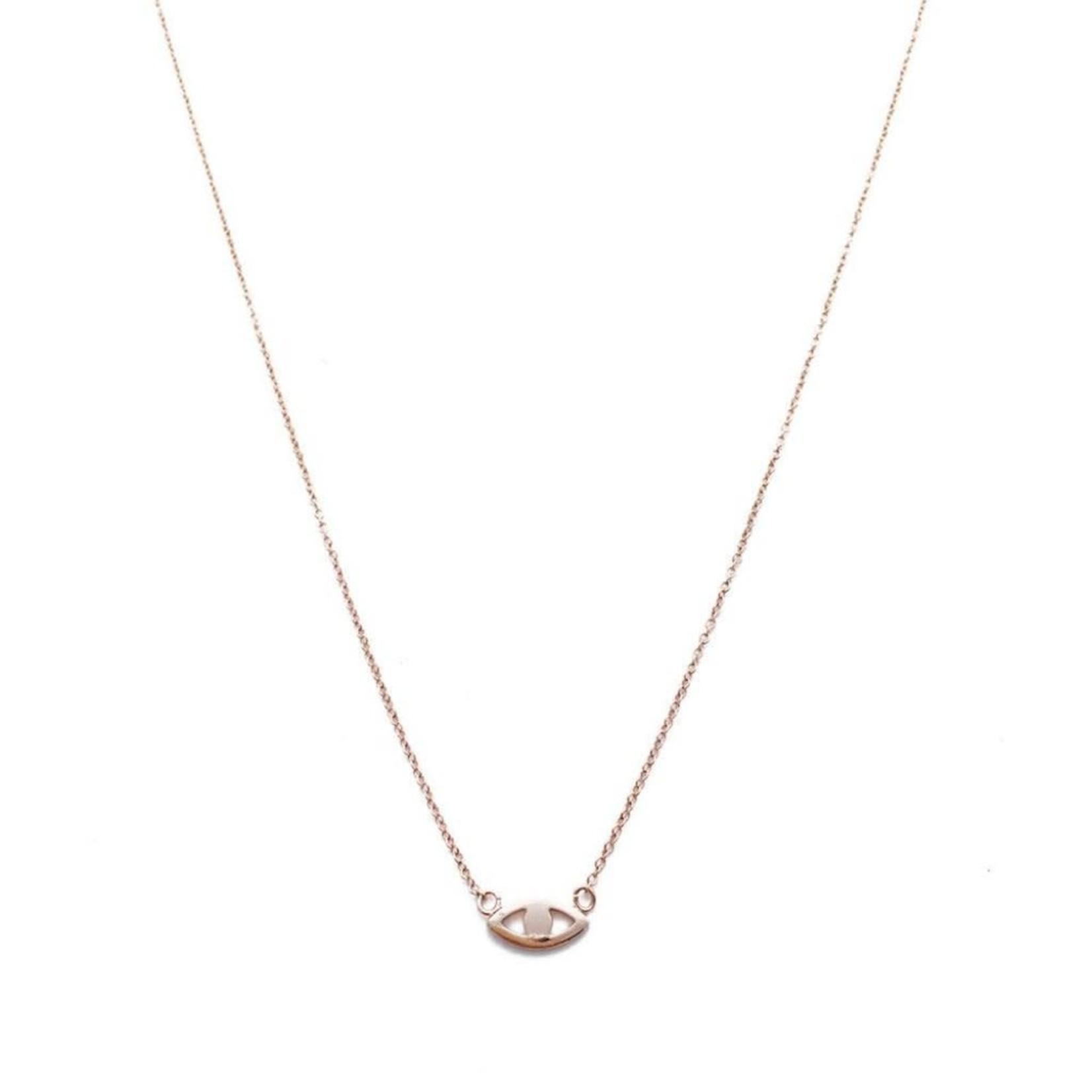 Honeycat Jewelry Honeycat Evil Eye Necklace