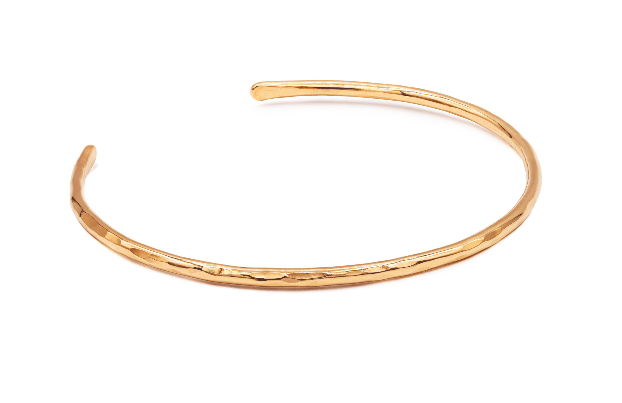 Mana Made Jewelry Mana Made Thin Cuff Bracelet 14K